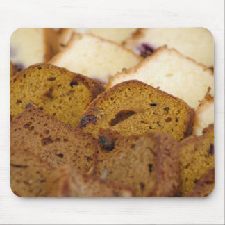 Assortment of Breakfast Breads and Cakes Mouse Pad