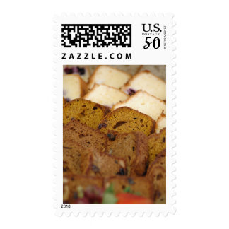 Assortment of Breakfast Breads and Cakes Postage