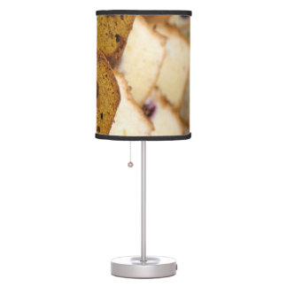 Assortment of Breakfast Breads and Cakes Table Lamp