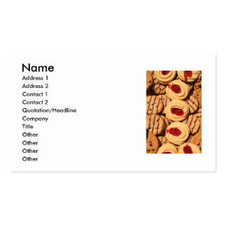 Assortment of Cookies Business Card