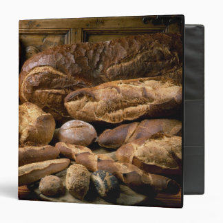 Assortment of country-style breads For use in Binder