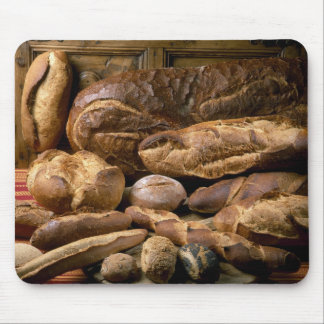 Assortment of country-style breads For use in Mouse Pad