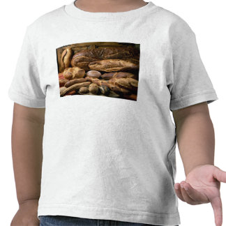 Assortment of country-style breads For use in T-shirts