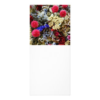 Assortment Of Dried Flowers Rack Card