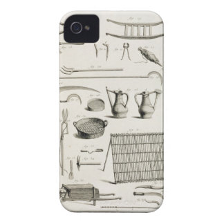Assortment of gardening tools, from the 'Encyclope Case-Mate iPhone 4 Case