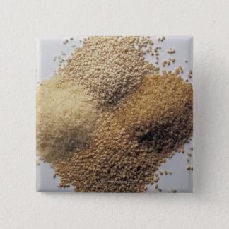 Assortment of grains button