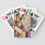 Assortment of organic handmade soaps bicycle playing cards
