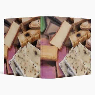 Assortment of organic handmade soaps binders