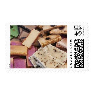 Assortment of organic handmade soaps postage