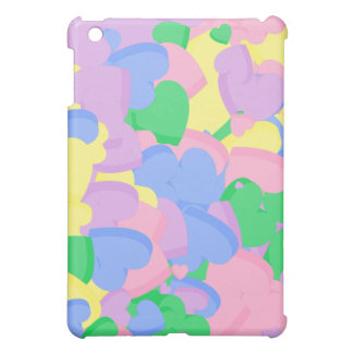 Assortment Pastel Sugar Candy Valentine Hearts Cover For The iPad Mini