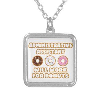 Asst administrativo. Trabajará para los anillos de Collar