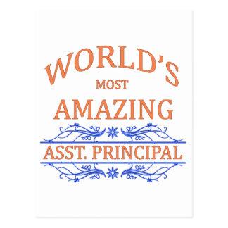 Asst. Principal Postcard