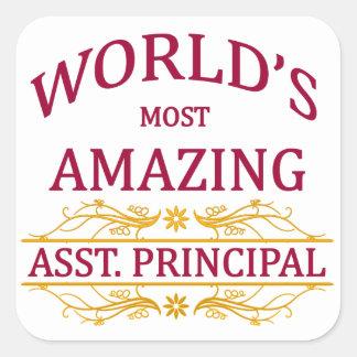 Asst. Principal Square Sticker