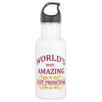 Asst. Principal Stainless Steel Water Bottle