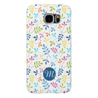 Asstd multicolor deja Rpt Ptn (personalizado) Fundas Samsung Galaxy S6