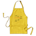 Assume the Position Ballet Gifts Aprons