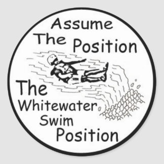 assume the position Sticker