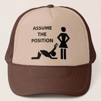 Assume The Possition Trucker Hat