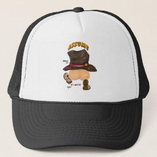 assume trucker hat