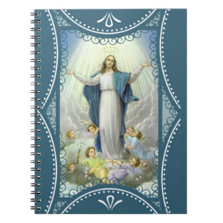 Assumption of the Blessed Virgin Mary Angels Notebook