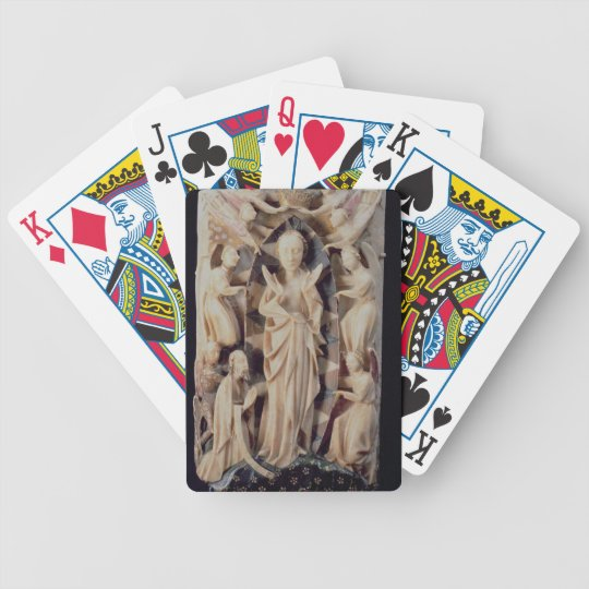 Assumption of the Virgin (alabaster) Bicycle Playing Cards