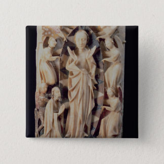 Assumption of the Virgin (alabaster) Pinback Button