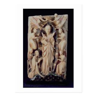Assumption of the Virgin (alabaster) Postcard