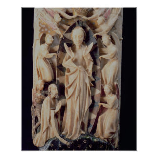 Assumption of the Virgin (alabaster) Poster