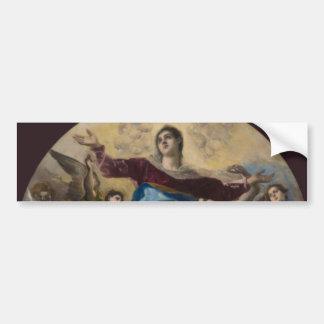 Assumption of the Virgin by El Greco Bumper Sticker