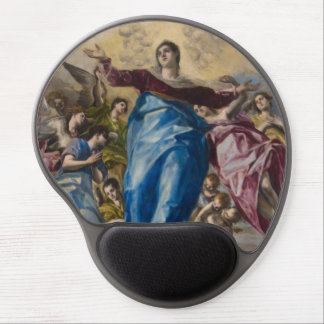Assumption of the Virgin by El Greco Gel Mousepads