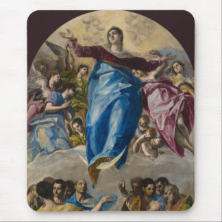 Assumption of the Virgin by El Greco Mousepad