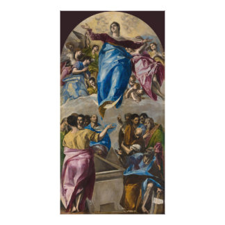 Assumption of the Virgin by El Greco Photo Print