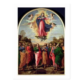 Assumption of the Virgin Postcard
