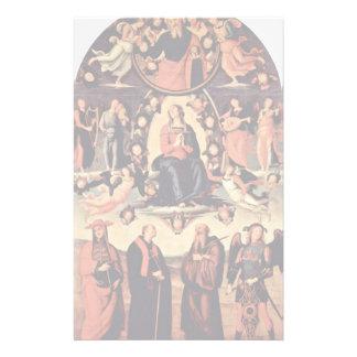 Assumption, With Four Saints, From Left: Bernardo Stationery Paper