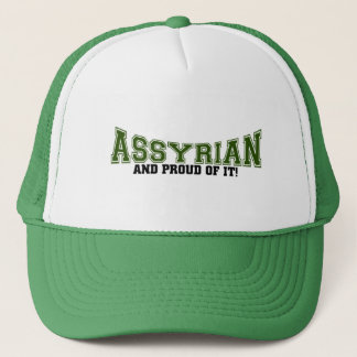 Assyrian and proud of it trucker hat