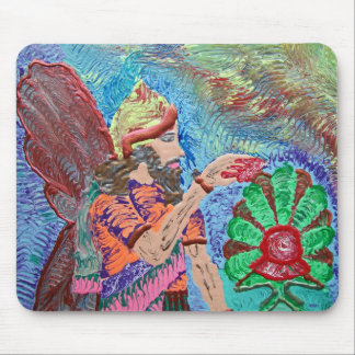 Assyrian Angel Mouse Pad