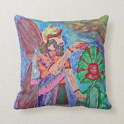 Assyrian Angel Pillow