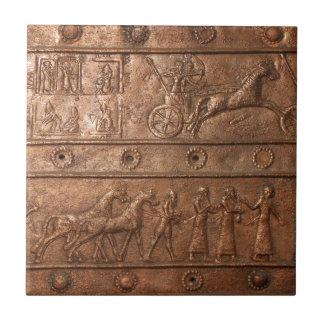 Assyrian Gate Ceramic Tile