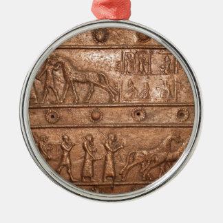 Assyrian Gate Metal Ornament