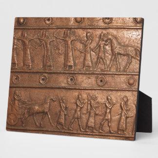 Assyrian Gate Display Plaque