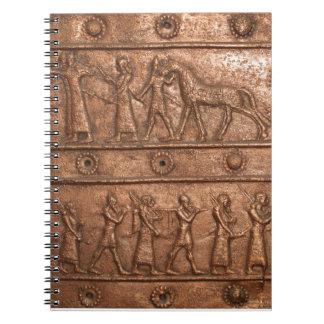 Assyrian Gate Spiral Notebook