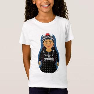 Assyrian Girl Matryoshka Girls Baby Doll (Fitted) T-Shirt
