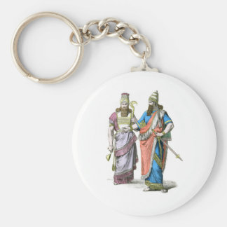Assyrian High Priest and King Keychain