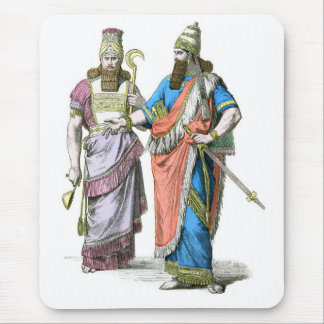 Assyrian High Priest and King Mouse Pad