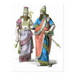 Assyrian High Priest and King Postcard