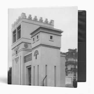 Assyrian House, Universal Exhibition, Paris Binder