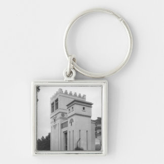 Assyrian House, Universal Exhibition, Paris Keychain