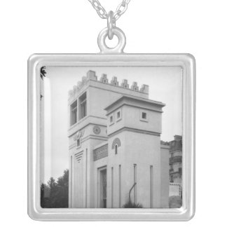 Assyrian House, Universal Exhibition, Paris Silver Plated Necklace