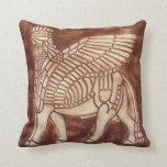 Assyrian Lamassu Pillow