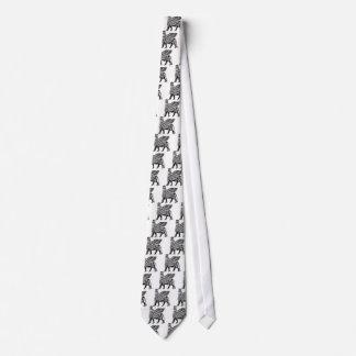 Assyrian Lamassu Tie